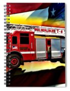 Milwaukee Truck 6 Spiral Notebook