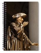 Mime Florence Italy Spiral Notebook