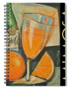 Mimosa Poster Spiral Notebook
