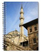 Minaret Of The Blue Mosque Spiral Notebook