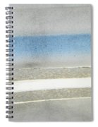 Minimalism In Primarily Grey Spiral Notebook