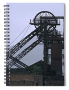 Mining History Spiral Notebook