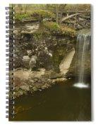 Minneopa Falls 39 Spiral Notebook