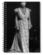 Minnie Maddern Fiske Spiral Notebook