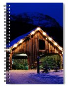 Miracle Of Christmas Spiral Notebook