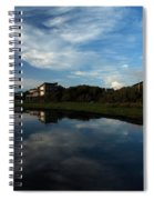 Mirror At Theshore Spiral Notebook