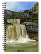 Mirusha Falls In Kosovo Spiral Notebook