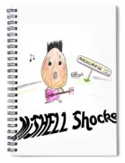 Mishell Shocked Spiral Notebook
