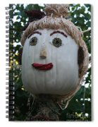 Miss Julia Scarecrow Spiral Notebook