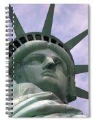Miss Liberty Spiral Notebook