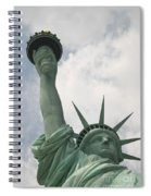 Miss Statue Of Liberty Spiral Notebook