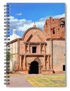 Mission At Tumacacori Spiral Notebook