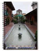 Mission Inn Roof Top Pond Spiral Notebook