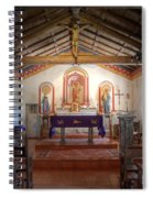 Mission San Antonio De Padua 3 Spiral Notebook