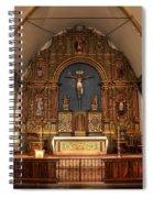 Mission San Carlos Borromeo De Carmelo  11 Spiral Notebook