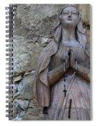 Mission San Carlos Borromeo De Carmelo  9 Spiral Notebook