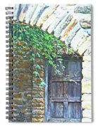 Mission San Jose San Antonio Texas Spiral Notebook
