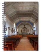 Mission Santa Ines 3 Spiral Notebook