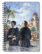 Missionaries: Baptism Spiral Notebook