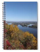 Mississippi River Fall Spiral Notebook