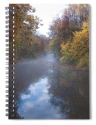 Mist Along The Wissahickon Spiral Notebook