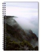 Mists Along The Kalalau Valley Spiral Notebook