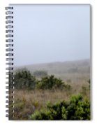 Mists Between The Hills Spiral Notebook