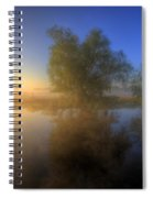 Misty Dawn 1.0 Spiral Notebook