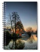 Misty Days And Mondays Spiral Notebook