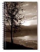 Misty Reflections S Spiral Notebook