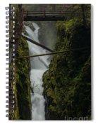 Misty Torrent Spiral Notebook