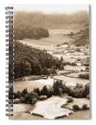 Misty Valley Spiral Notebook