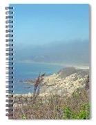 Misty View From Nobska Point - Woods Hole Ma Spiral Notebook