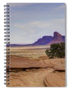 Mitchell Butte From Mystery Valley Spiral Notebook