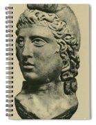 Mithras, Zoroastrian Divinity Spiral Notebook
