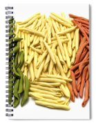 Mixed Pasta Spiral Notebook