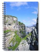 Mizen Head, Ivagha Peninsula, Co Cork Spiral Notebook