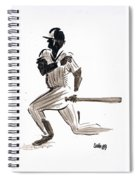 Mlb Base Hit Spiral Notebook