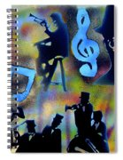 Mo Betta Blues Spiral Notebook