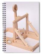Model Catapult Spiral Notebook