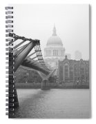 Modern And Traditional London Spiral Notebook
