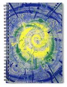 Modern Art Five Spiral Notebook