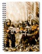 Modern Battle Field Spiral Notebook
