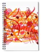 Modern Drawing 105 Spiral Notebook
