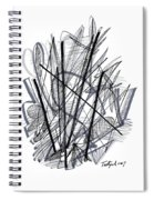 Modern Drawing 112 Spiral Notebook
