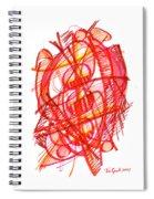 Modern Drawing 113 Spiral Notebook