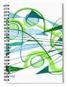 Modern Drawing Ninety-one Spiral Notebook