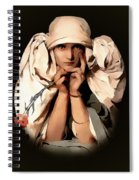 Modern Madame Spiral Notebook