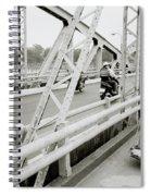 Modernity In Hue Spiral Notebook