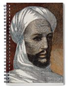 Mohammed Ahmed, Mahdi /n(1843?-1885): Wood Engraving, 1884 Spiral Notebook